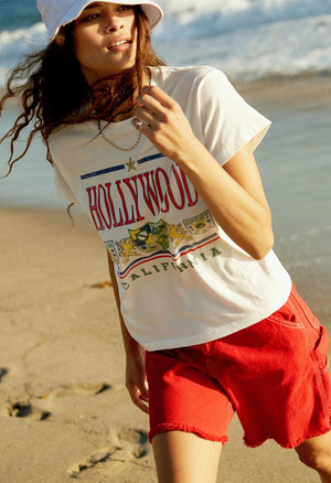 Hollywood Girlfriend Tee - The Canyon