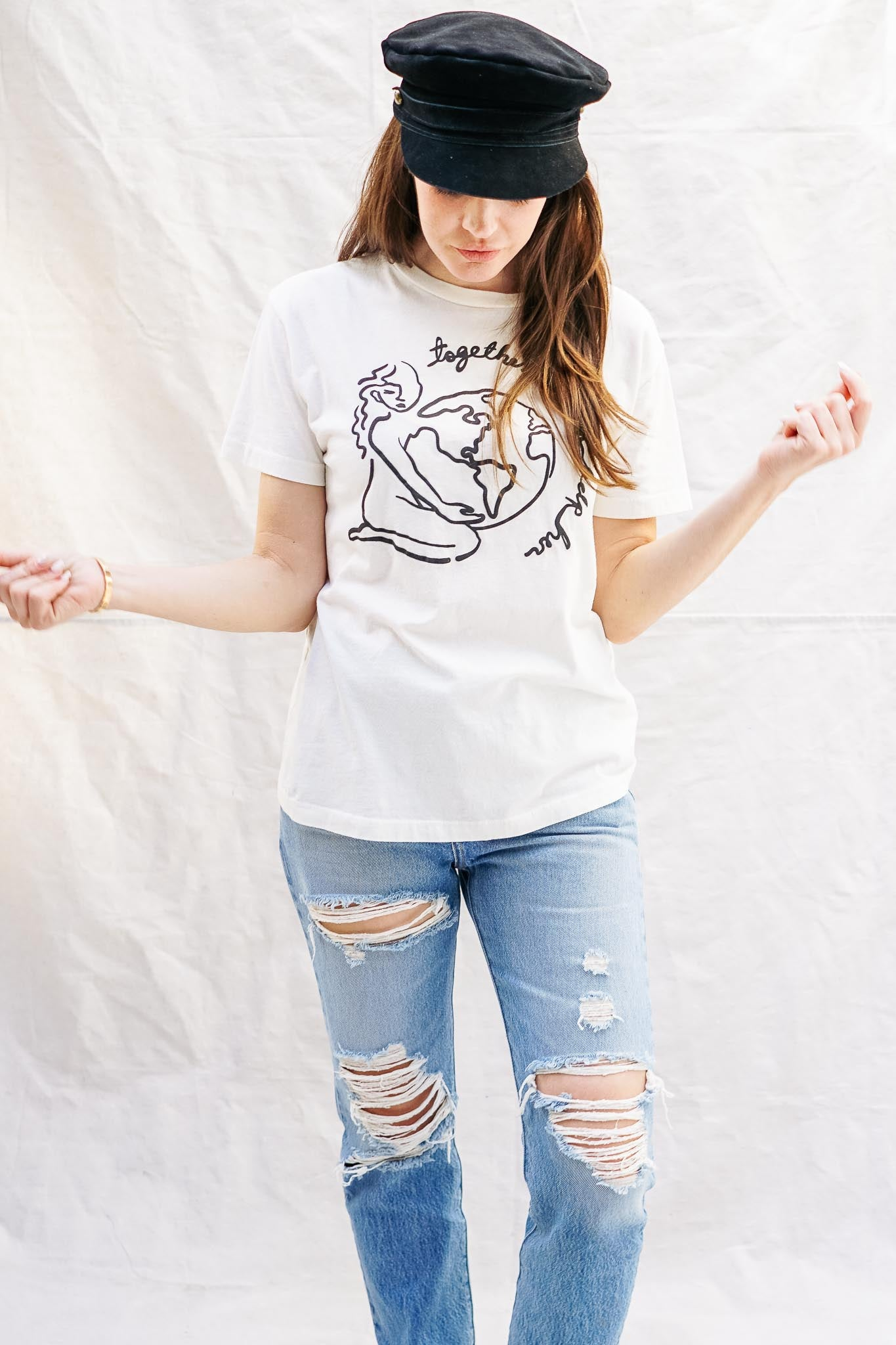 Help Her Slouchy Tee - The Canyon