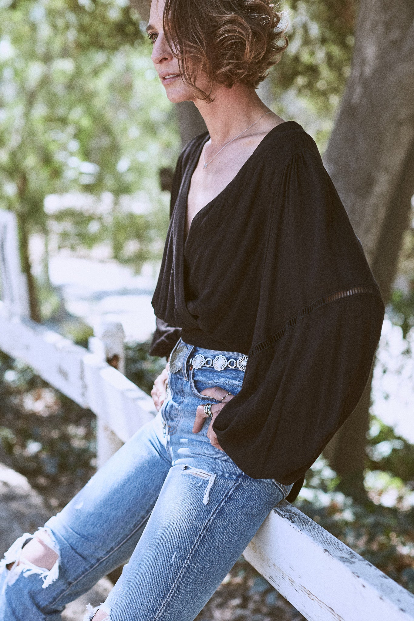Dream Girl Wrap Top - The Canyon