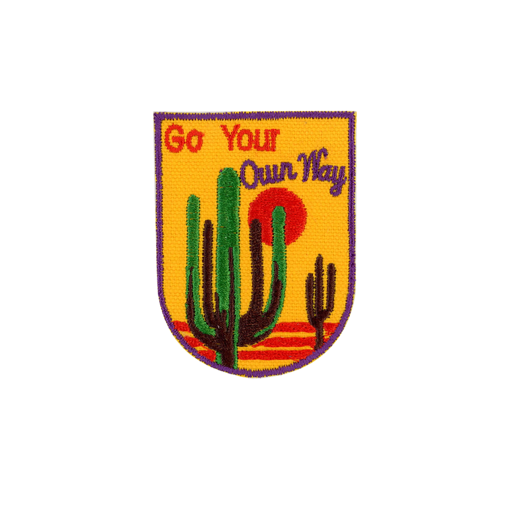 Go Your Own Way Patch - The Canyon
