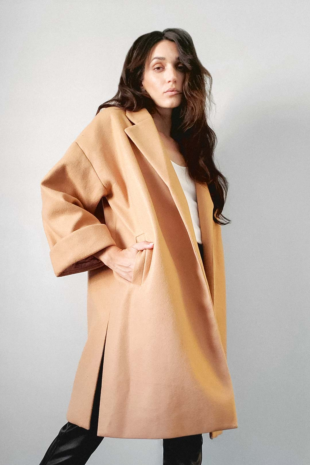 Carrie Oversize Jacket - The Canyon