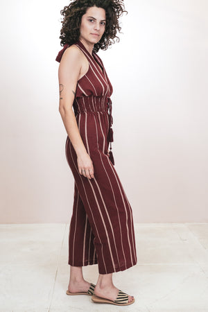 Halter Jumpsuit - The Canyon