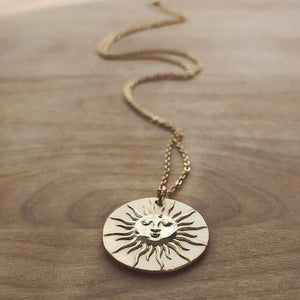 Chronos Medallion Necklace - The Canyon