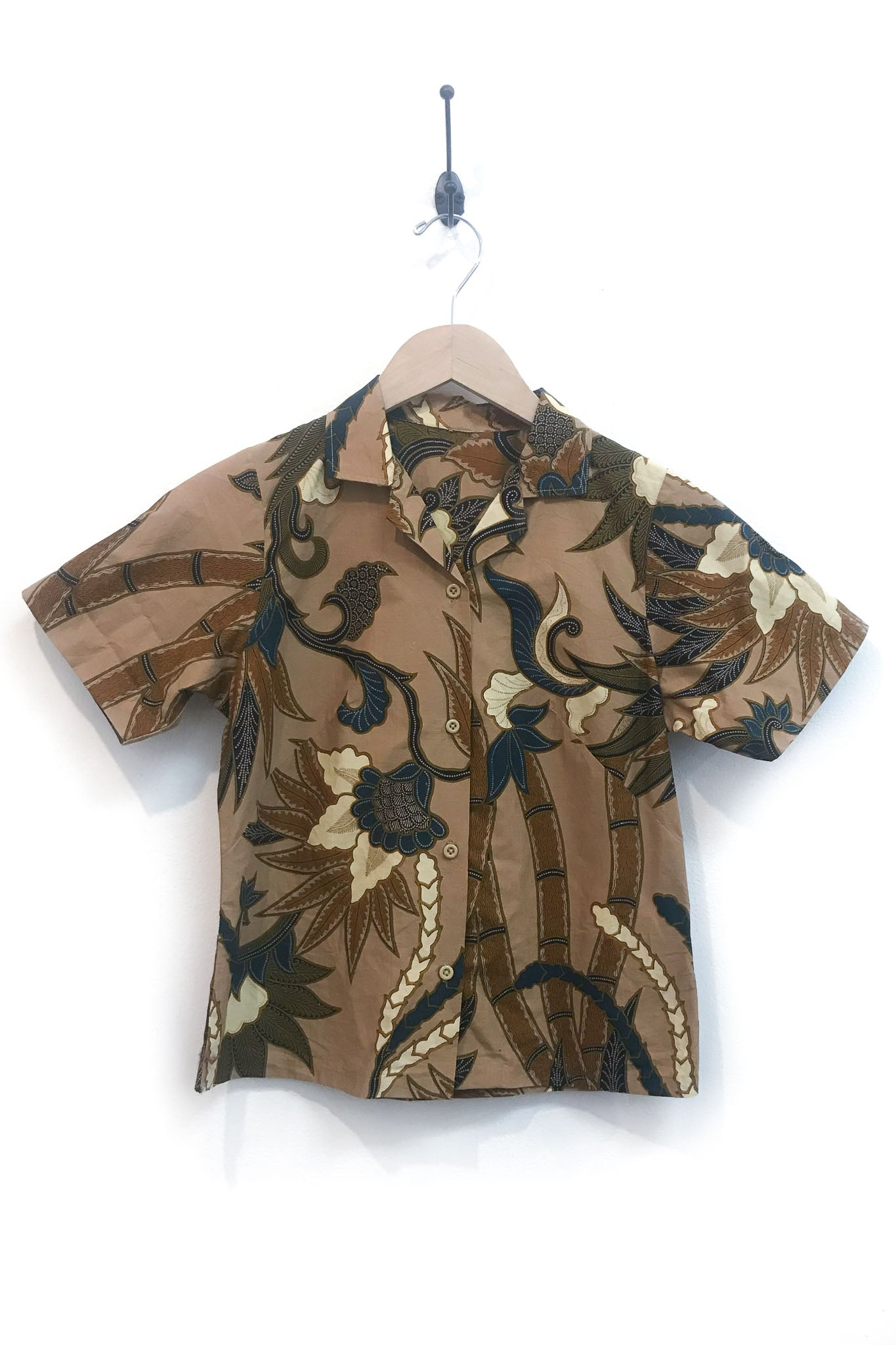 Vintage Bamboo Print Shirt - The Canyon