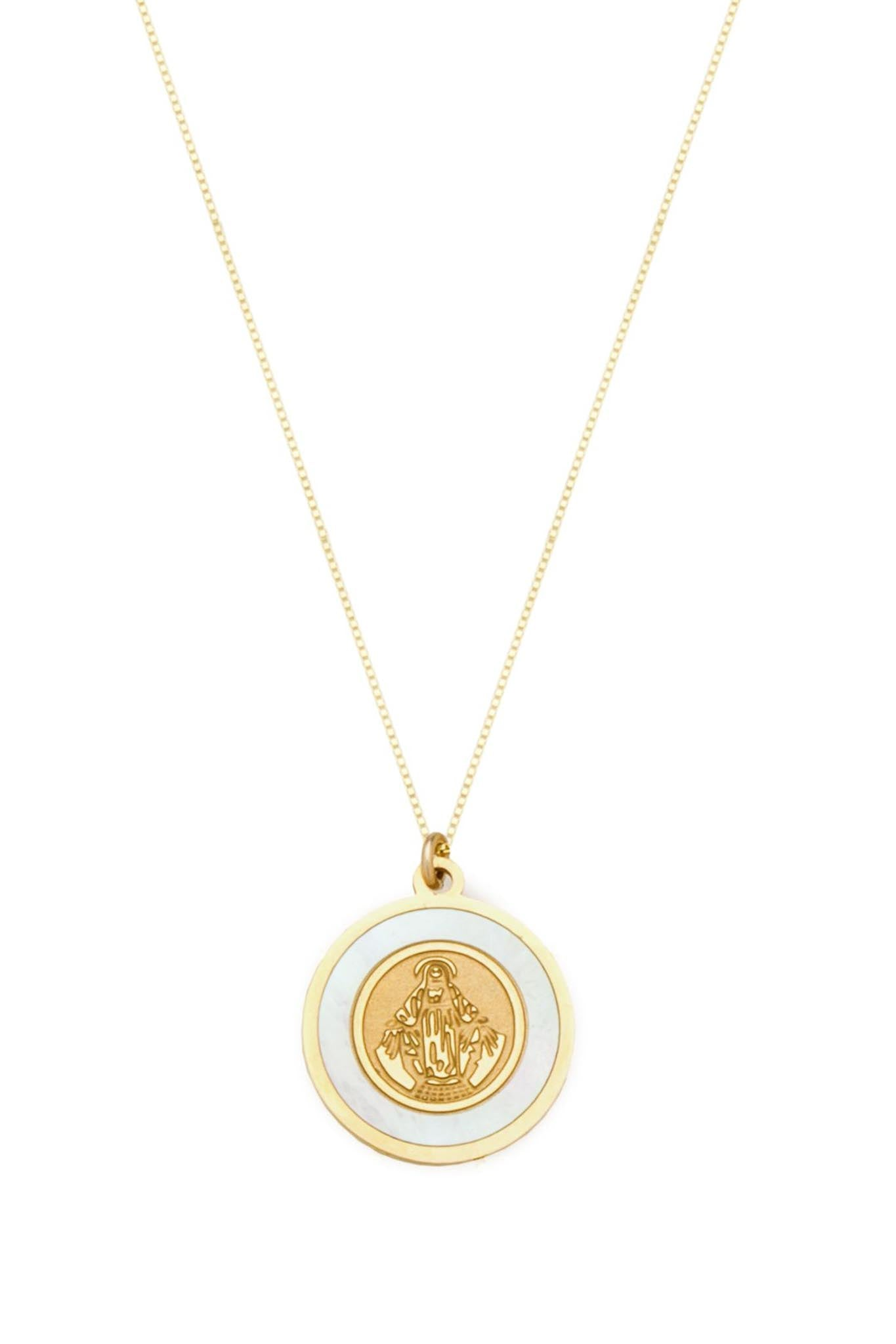 The Blanc Circle Pendant - The Canyon