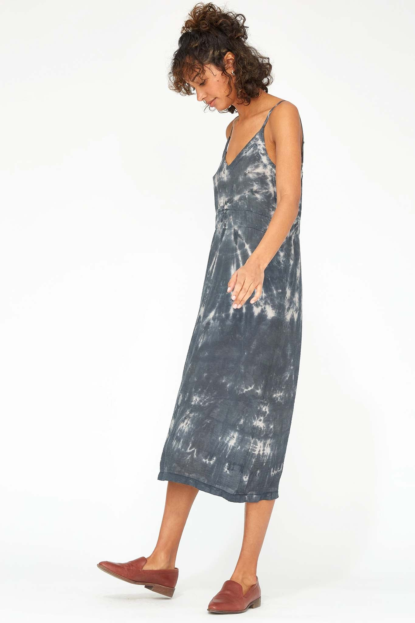 Alma Slip Dress - Smokey Quartz - The Canyon