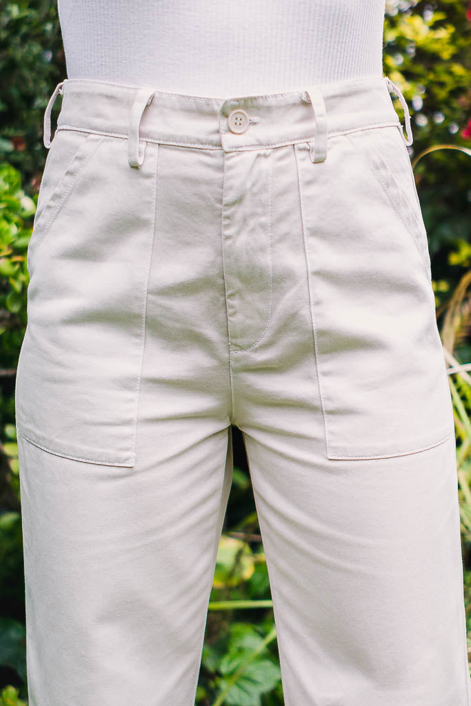 Brushed Stella Trousers - The Canyon