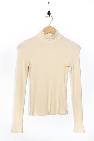 Rib Turtleneck Sweater - The Canyon