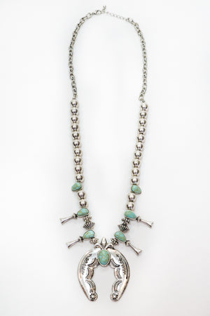 Long Squash Blossom Necklace - The Canyon