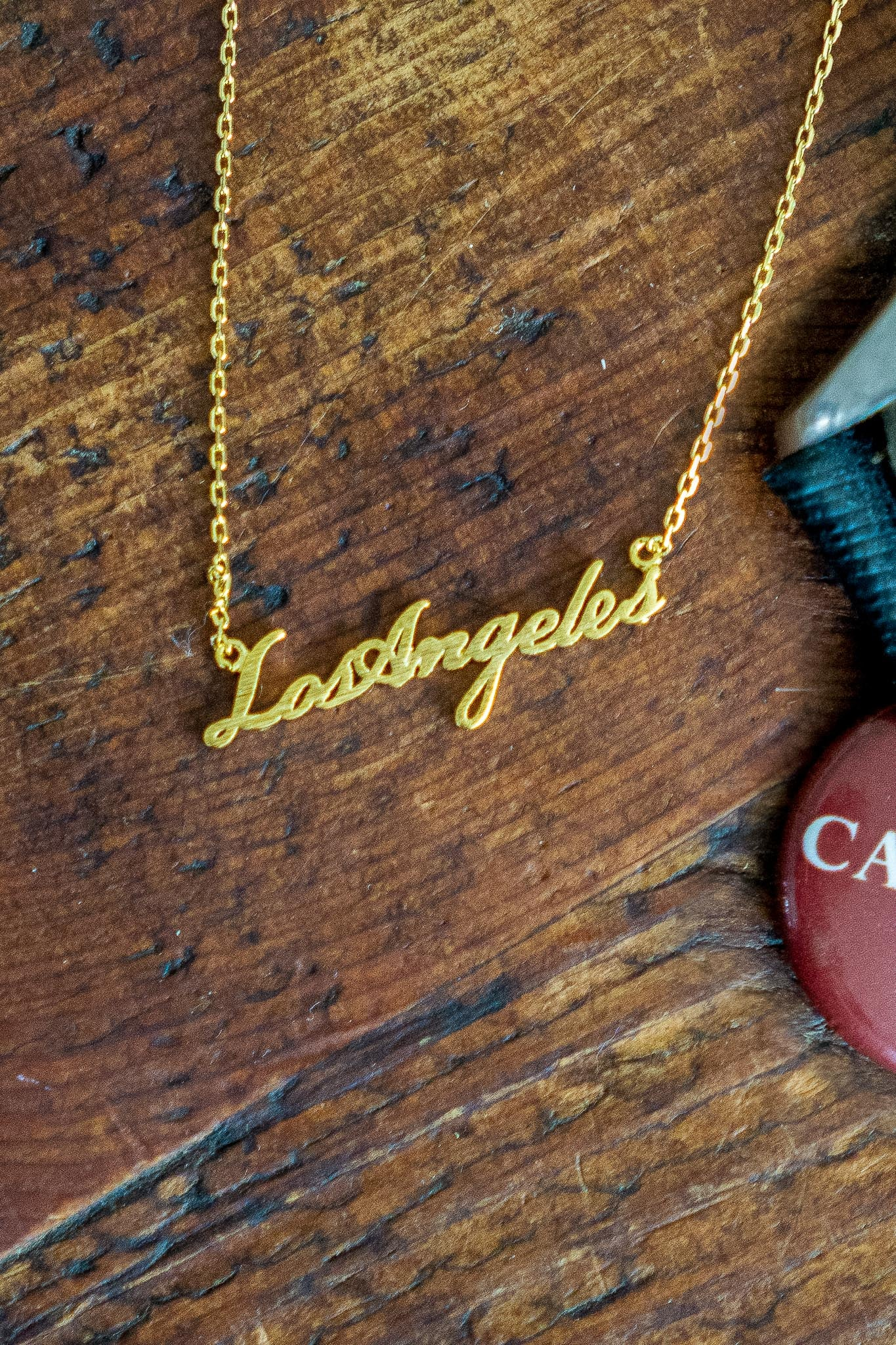 Los Angeles Script Necklace - The Canyon