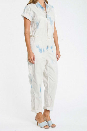 Grover Short Sleeve Field Suit - Blue Surf - The Canyon