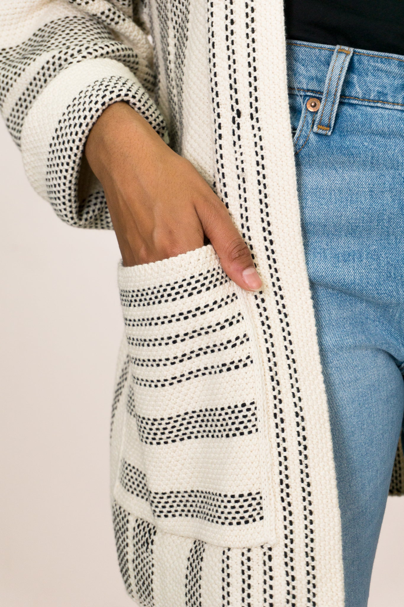 Oversized Slouchy Cardigan - The Canyon