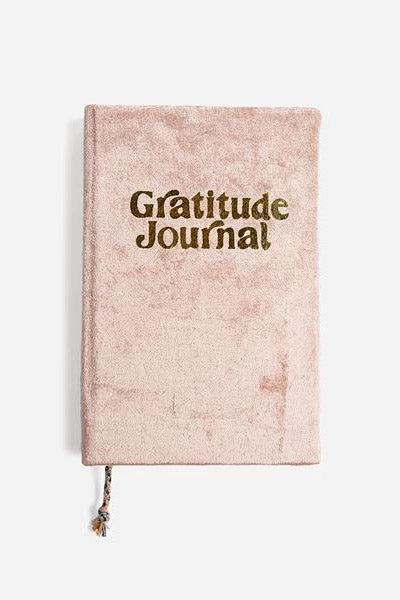Mini Velvet Gratitude Journal - The Canyon