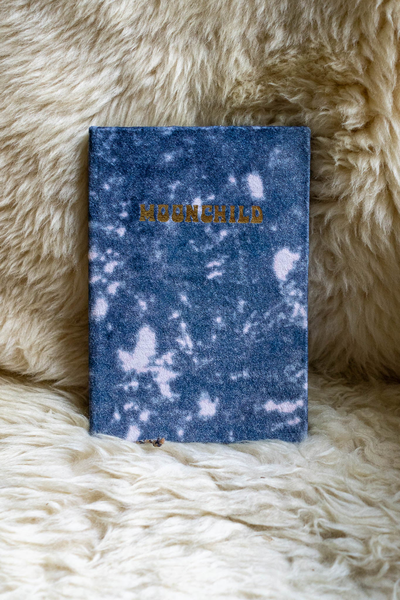 Moonchild Slim Velvet Journal - The Canyon
