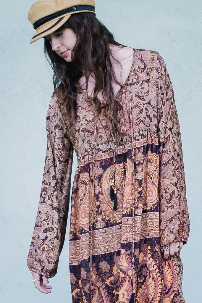 Printed Smock Dress - The Canyon