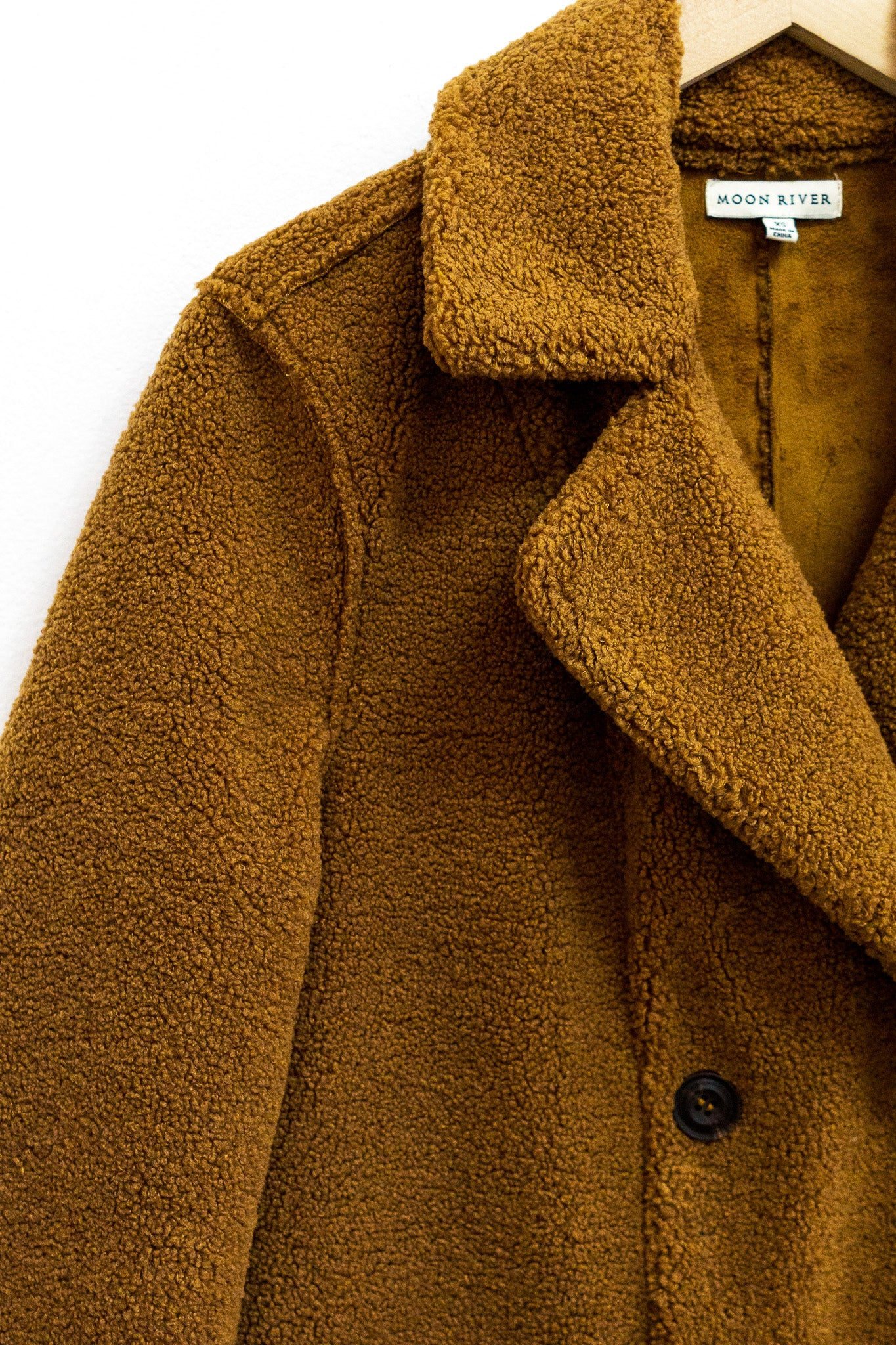 Reversible Sherpa Coat - The Canyon