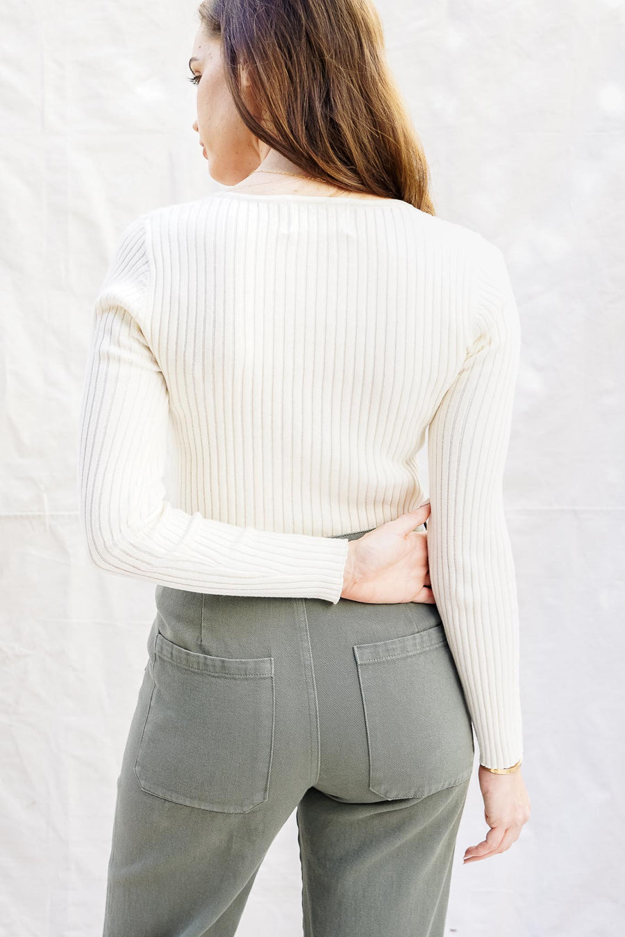 Classic Rib Sweater - The Canyon