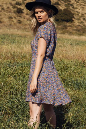 Milla Coast Floral Dress - The Canyon