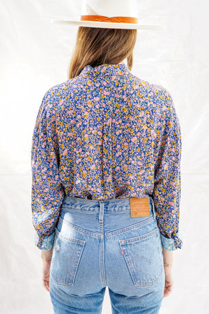 Slouch Coast Floral Shirt - The Canyon