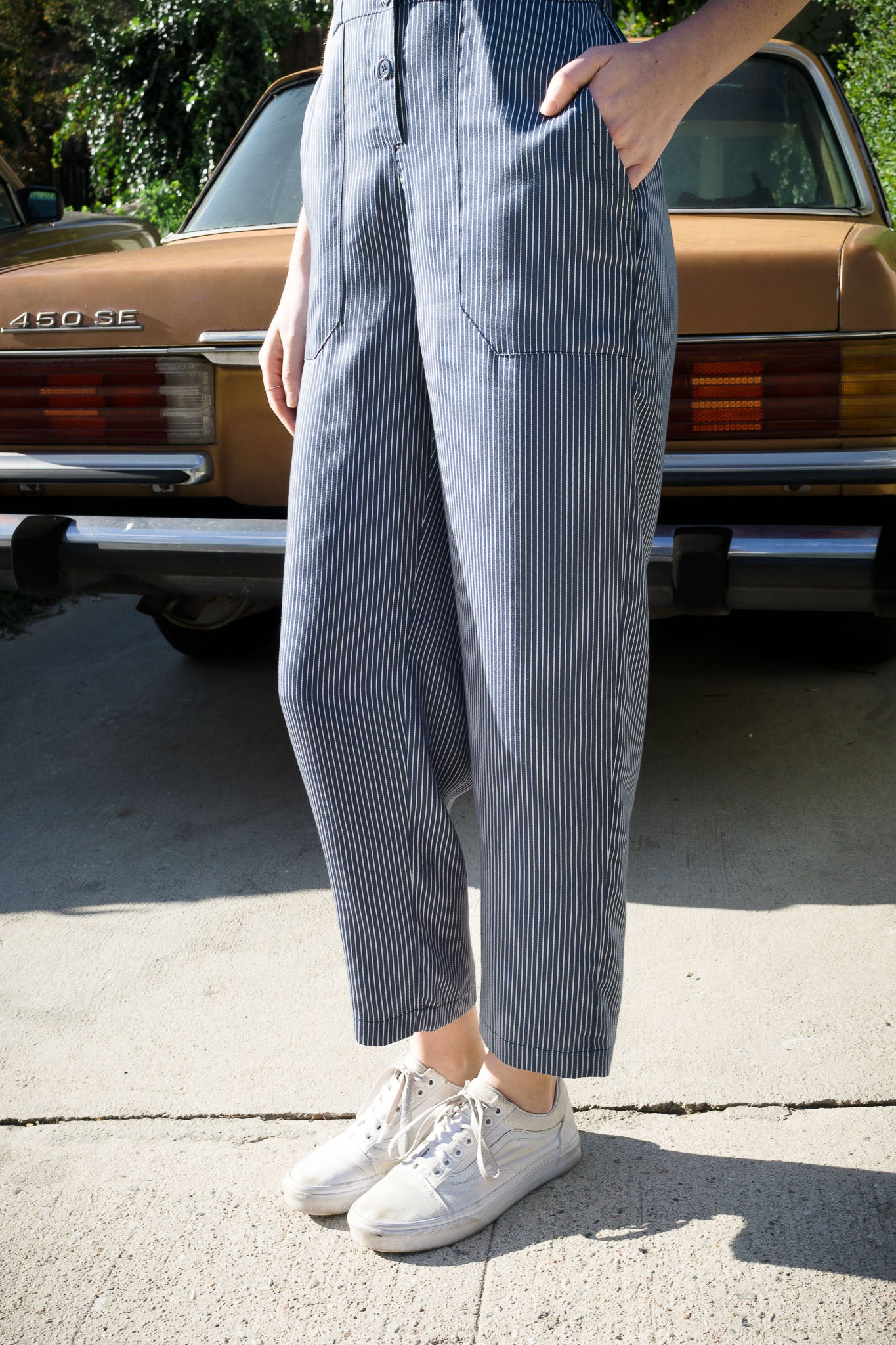Striped Montana Jumpsuit - The Canyon