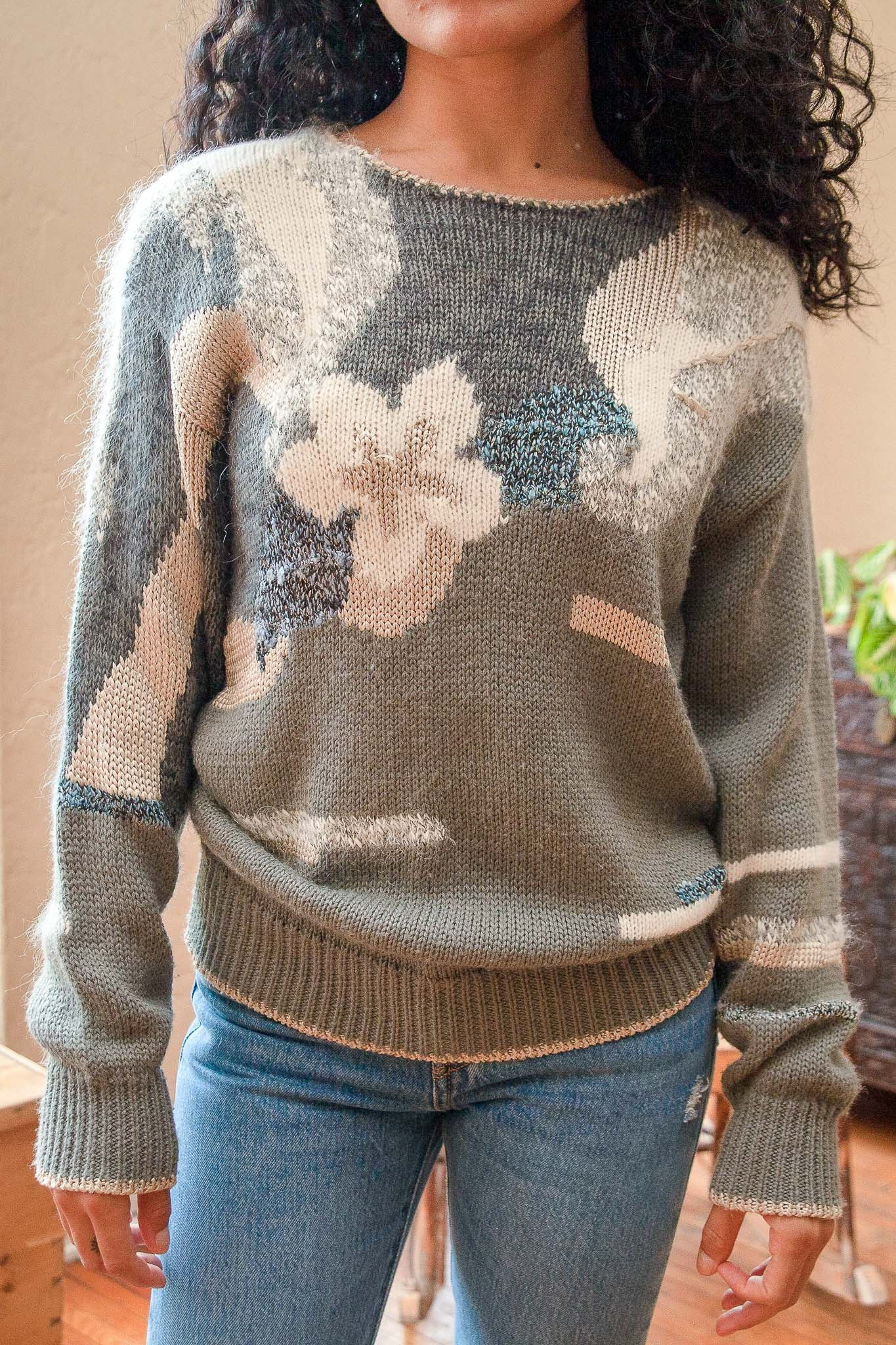Vintage Lily Knit Sweater - The Canyon