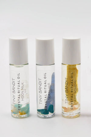 Crystal Ritual Oil - Sea Elixir - The Canyon