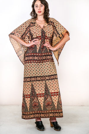 Vintage 1970s Deadstock Caftan - The Canyon
