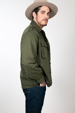 Vintage Army Jacket - The Canyon