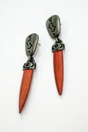 Vintage Dagger Earrings - The Canyon