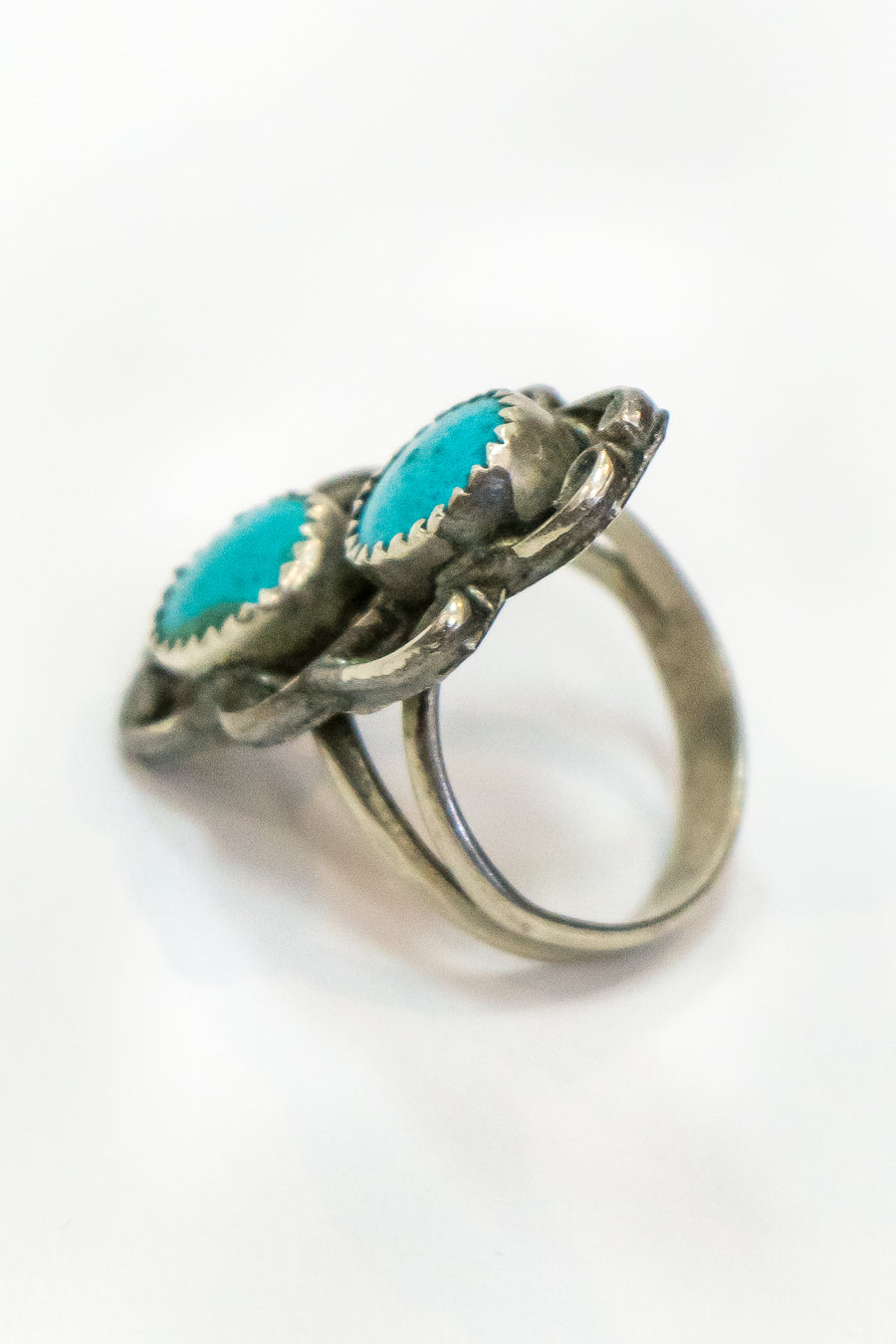 Vintage Turquoise Ring - The Canyon