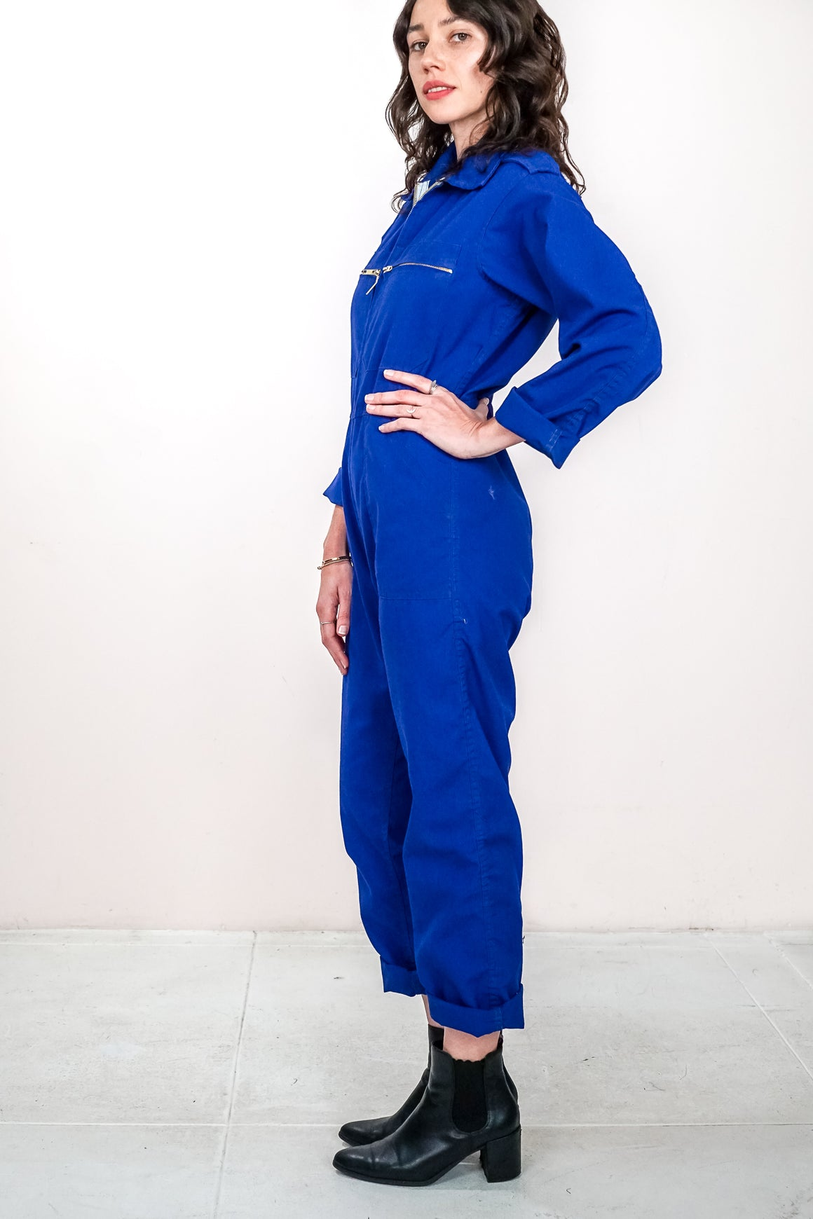 Vintage Work Jumpsuit - The Canyon