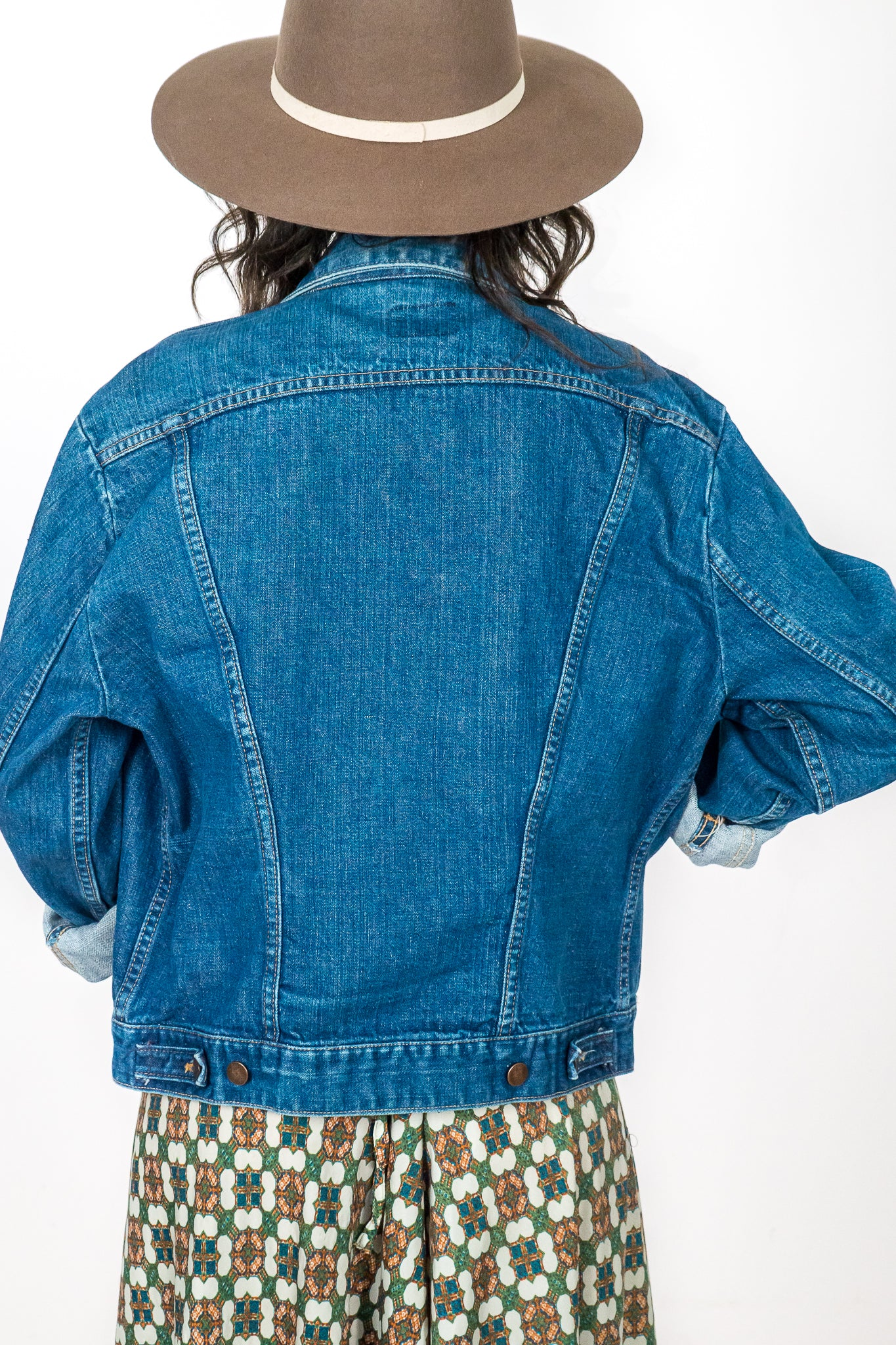 Vintage Wrangler Denim Jacket - The Canyon
