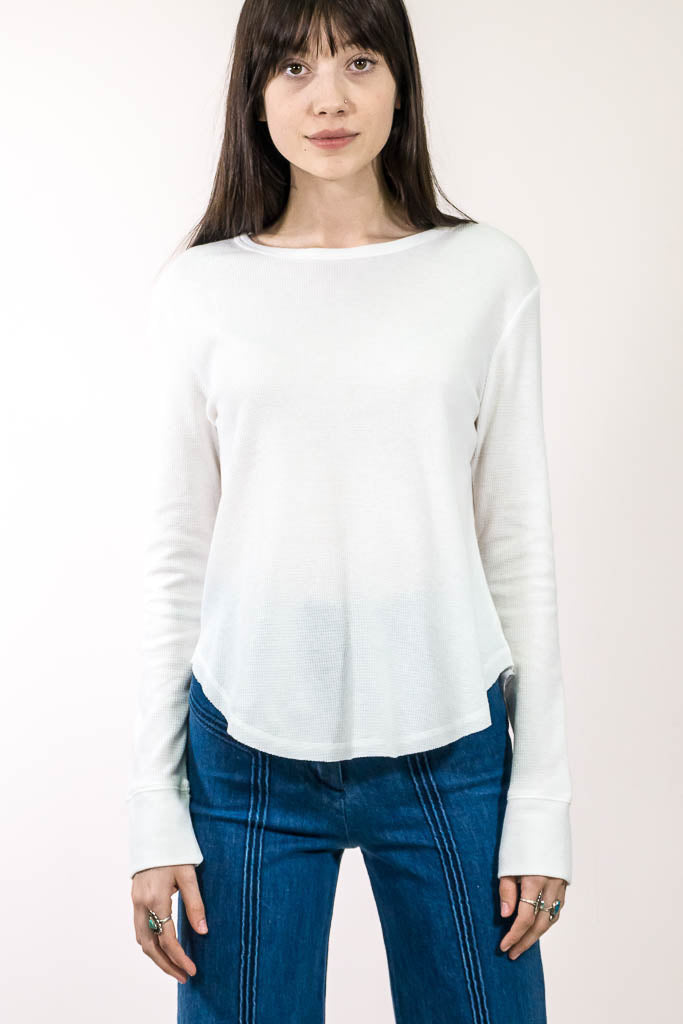 Waffle Knit Top - The Canyon
