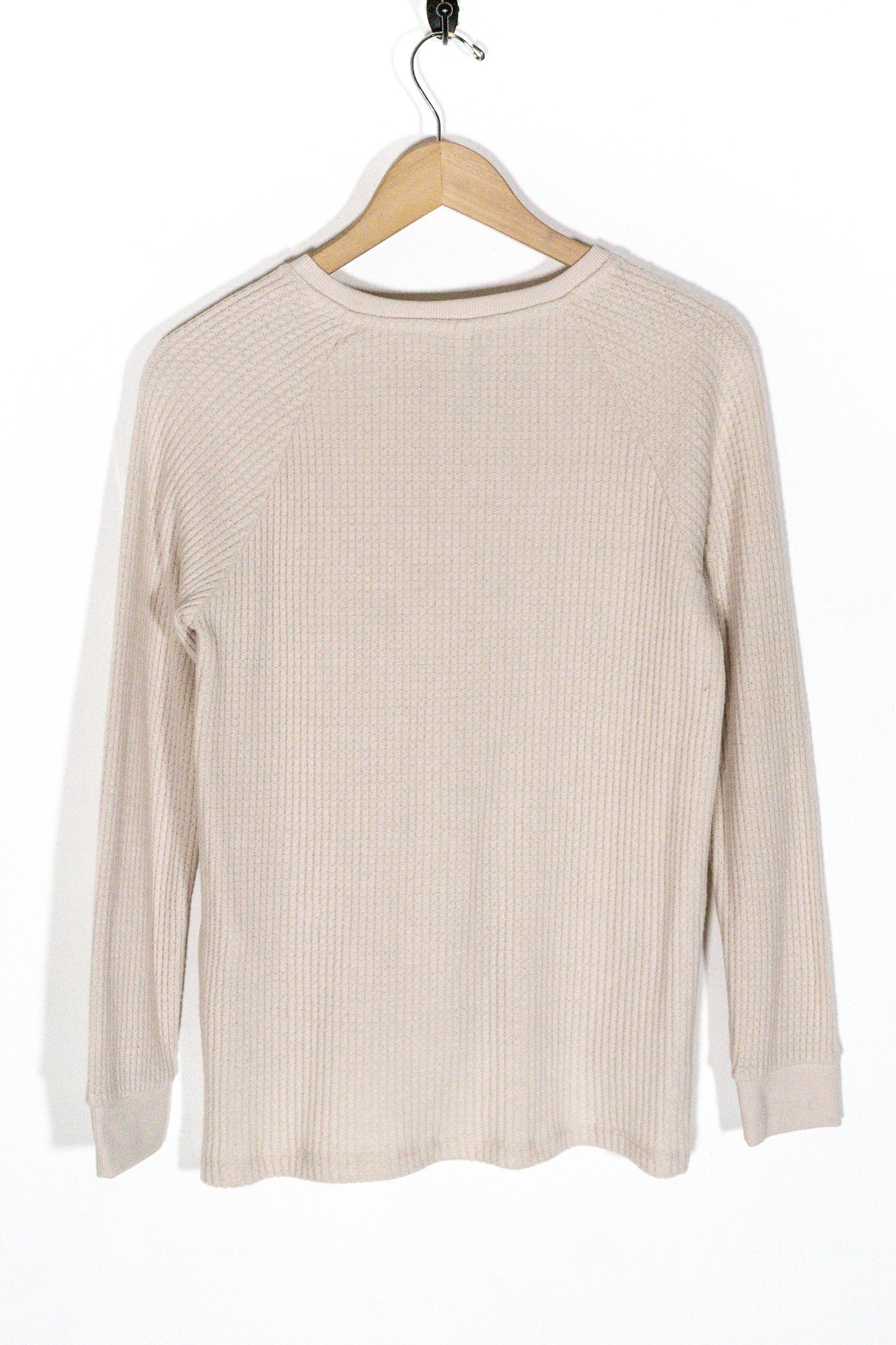 Waffle Thermal Henley - The Canyon