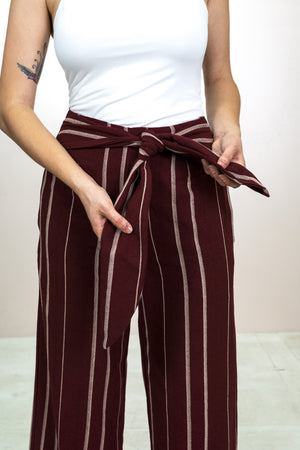 Waist Tie Pant - The Canyon