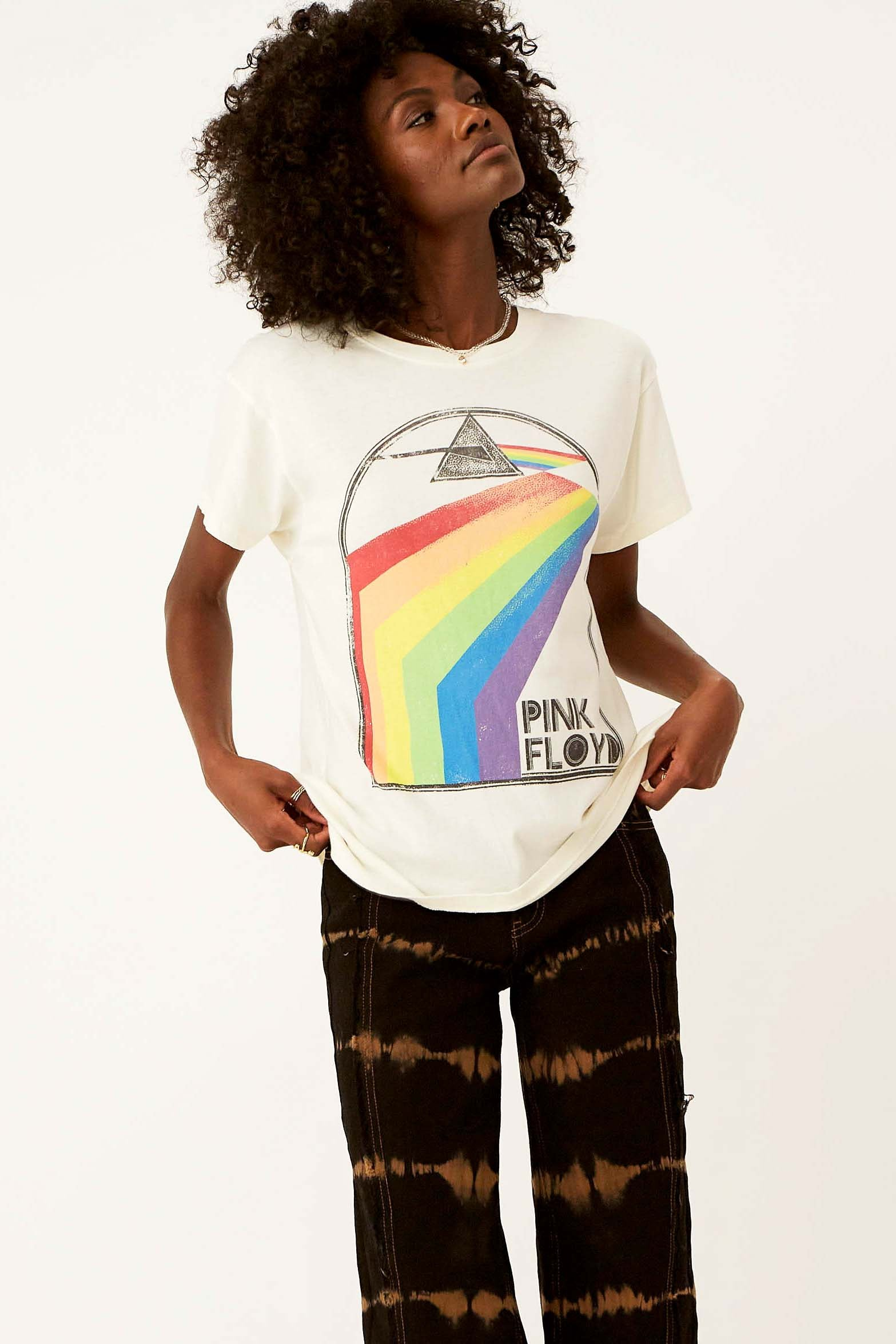 Pink Floyd Retro Rainbow Tour Tee - The Canyon