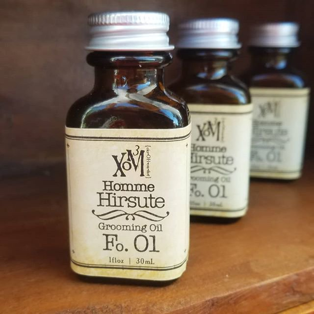 Homme Hirsute Grooming Oil Fo. No. 01 - XoM3 Botanical Solutions