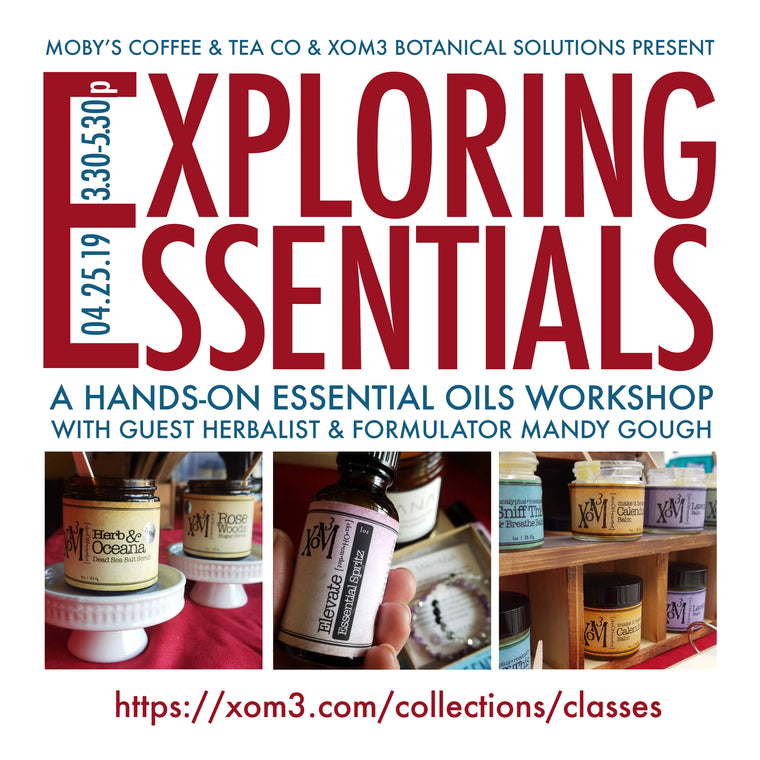 XoM3 Exploring Essentials Workshop 4/25/2019 - XoM3 Botanical Solutions