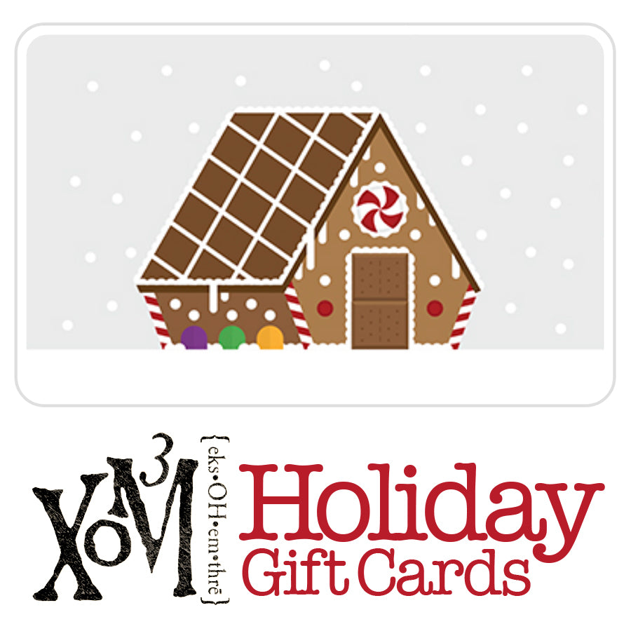 Holiday Gift Cards - XoM3 Botanical Solutions