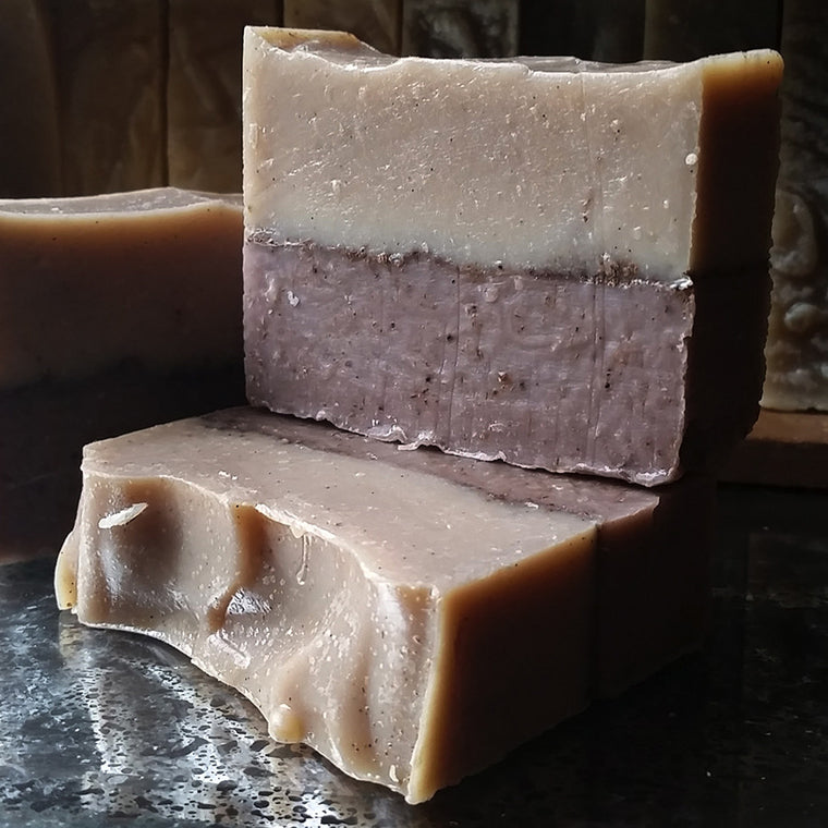 Lavender Vanilla Clay Bar - XoM3 Botanical Solutions