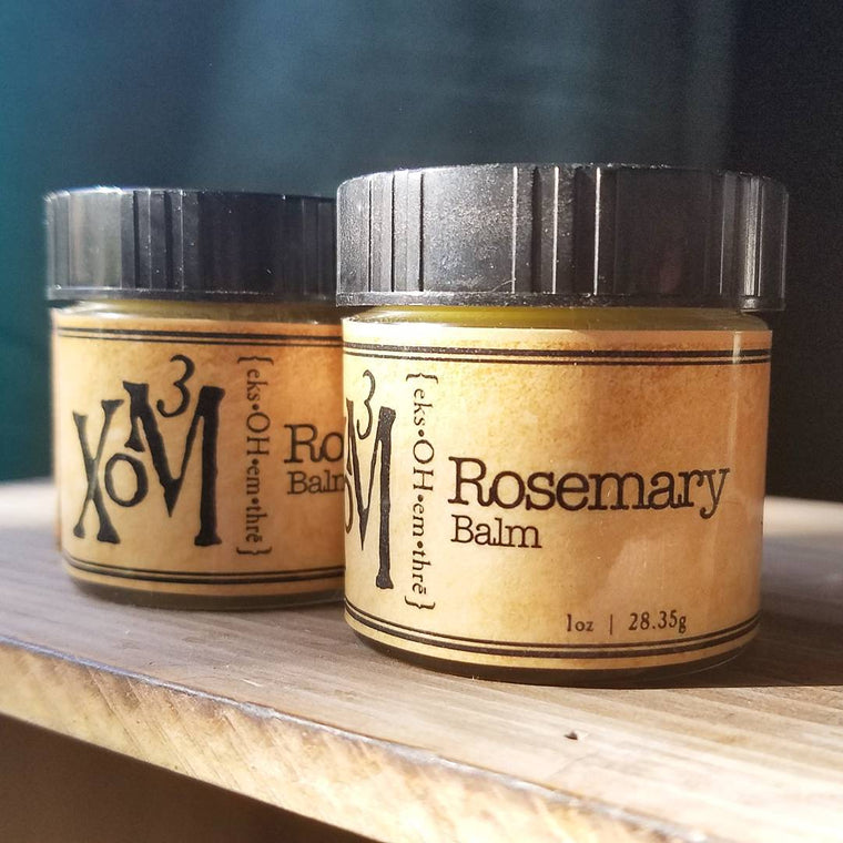 Rosemary Balm - XoM3 Botanical Solutions