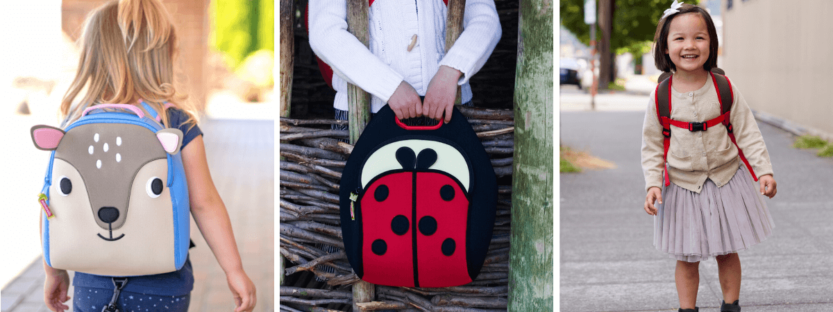 Dabbawalla_Bags_Kids_Bags_Deer_Themed _Backpack_Ladybug_Insulated_LunchBag