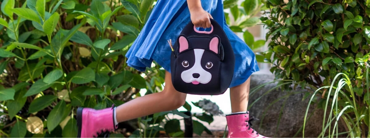 french bulldog insulated lunch bag by Dabbawalla Bags