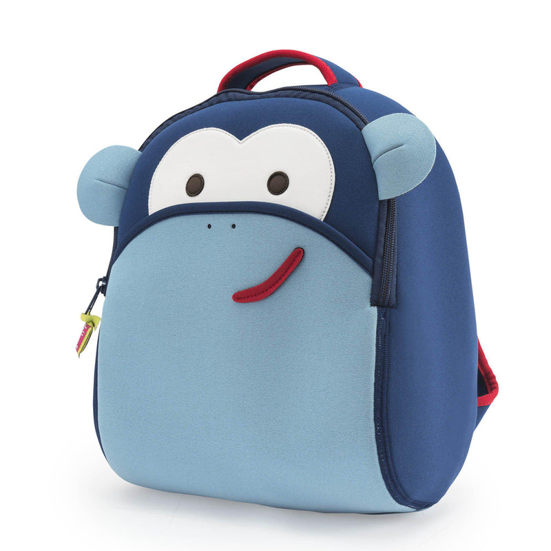 Blue Monkey Backpack - Outlet - Dabbawalla Bags