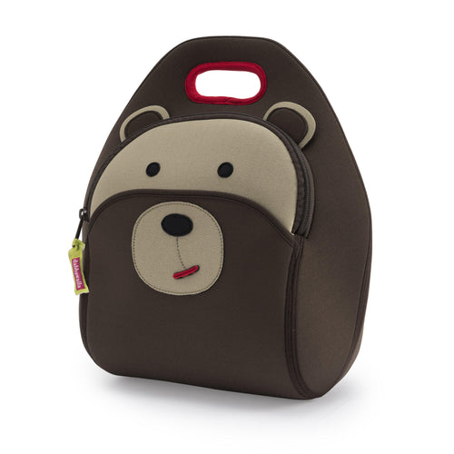 Brown Bear insulated Lunch Bag by Dabbawalla Bags