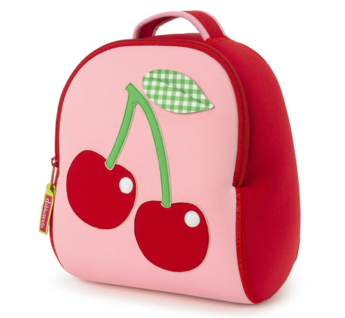 Insulated Cherry Backpack by Dabbawalla Bags.