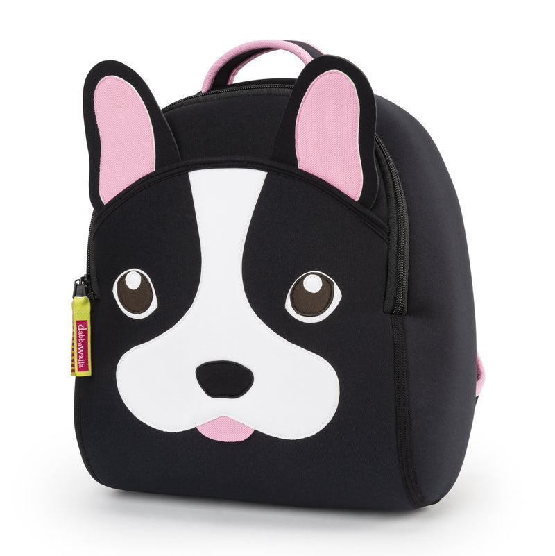 French Bulldog Backpack for Preschool by Dabbawalla Bags
