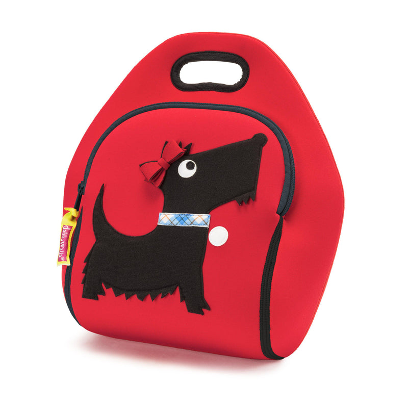Bonnie Scottie Kid's Insulated Lunch Bag -  Dabbawalla Bags