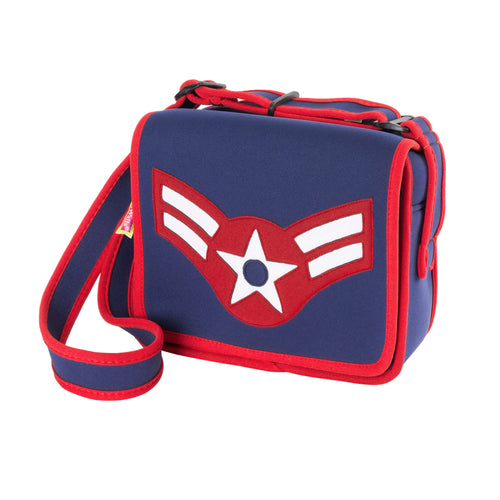 Kid's Aviation=themed  Messenger Tote by Dabbawalla Bags