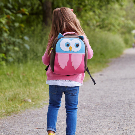 Hoot Owl Harness Backpack - Dabbawalla Bags